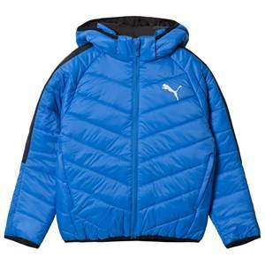 Puma Blue Active Puffer Jacket 7-8 years