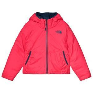 The North Face Pink & Navy Reversible Perrito Jacket S (7-8 years)