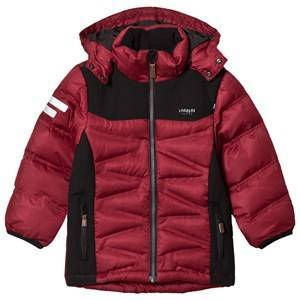 Lindberg Zermatt Jacket Beet Red 120 cm (7-8 Years)