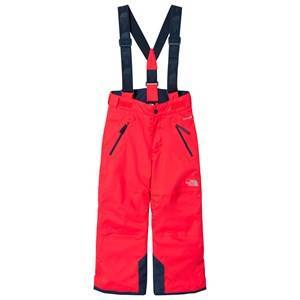 The North Face Rocket Red Snow Quest Suspender Ski Pants XS (6 years)