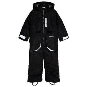 Didriksons Sogne Kids Coverall Black 110 (4-5 r)