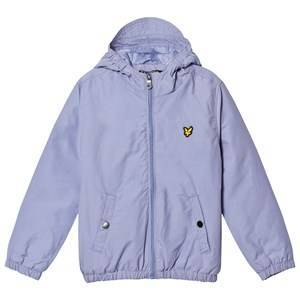 Lyle & Scott Blue Zip Hooded Jacket 7-8 years
