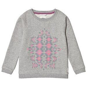 ebbe Kids Grey Melange Barbro Sweater 128 cm (7-8 r)