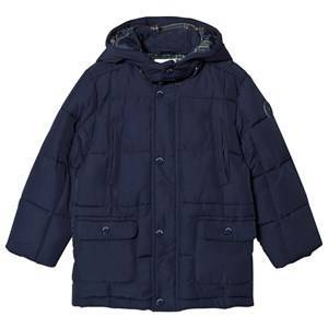 Mayoral Navy Quilted Padded Coat 4 years