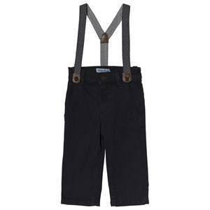 Mayoral Navy Chinos with Suspenders 36 months