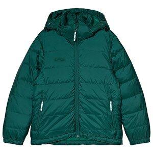 Bergans Green Rena Down Youth Windbreaker Jacket 128 cm (7-8 r)