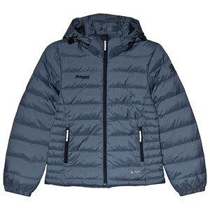 Bergans Navy Down Youth Girl Puffer Jacket 128 cm (7-8 r)