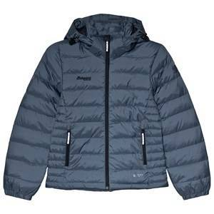 Bergans Navy Down Youth Girl Puffer Jacket 140 cm (9-10 r)
