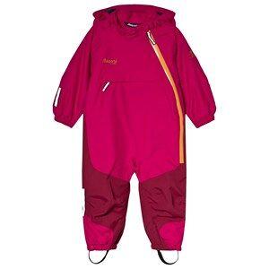 Bergans Hot Pink Sntid Kids Ski Suit 86 cm (1-1,5 r)