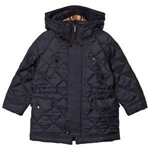 Burberry Tyler Quilted Hooded Jacket Navy 12 years