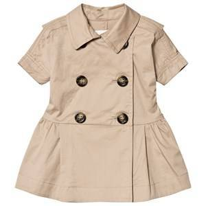 Burberry Mini Cynthie Trench Dress Beige 6 months