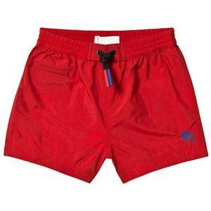Burberry Military Red Drawcord Baby Swim Shorts 6 months