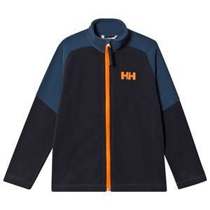 Helly Hansen Blue Colourblock Daybreaker Junior Mid Layer 12 years