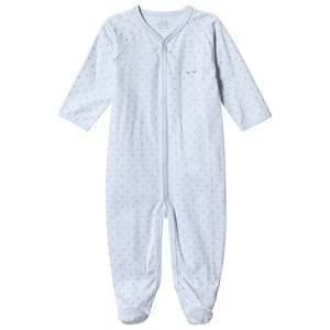 Livly Saturday Simplicity Footed Baby Body Baby Blue/gold Dots 6-9 mnd