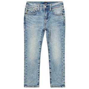 GAP Skinny Jeans Denim Light Wash 6 (6 Years)