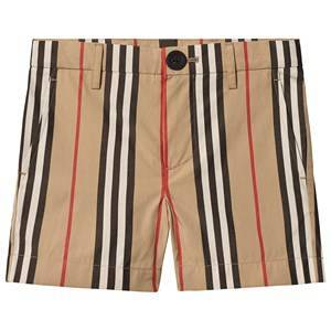 Burberry Archive Beige Icon Stripe Chino Shorts 8 years