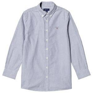 GANT Banker Shirt Navy and White 122-128cm (7-8 years)