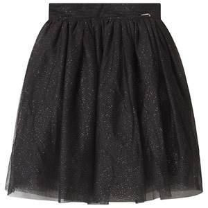 Guess Black Glitter Tulle Skirt 16 years