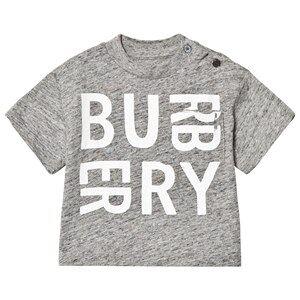 Burberry Mini Furgus Branded Tee Grey 18 months
