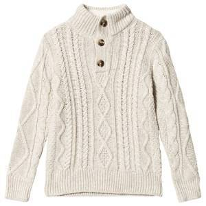 GAP Oatmeal Heather Cable Knit Sweater XS (4-5 r)