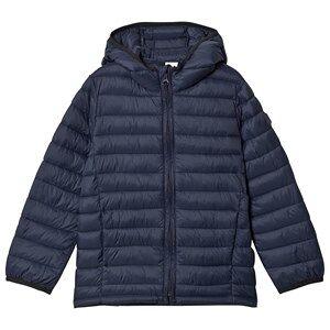 GAP True Indigo Puffer Jacket S (6-7 r)
