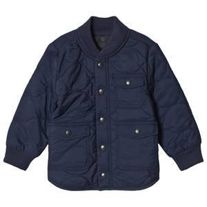 GAP Elysian Blue Quilted Jacket 2 r