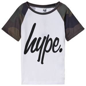 Hype Camo Raglan T-Shirt 3-4 years