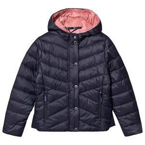 Barbour Isobath Quilt Jacket Navy S (6-7 years)