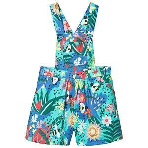 Frugi Cassie Floral Culotte Dungaree 5-6 years