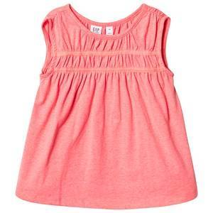 GAP Shirred Tunic Neon Blazing Pink S (6-7 r)