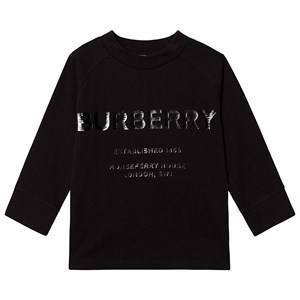 Burberry Horseferry Long Sleeve Tee Black 10 years