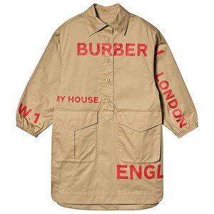 Burberry Horseferry Shirt Dress Honey 10 years