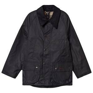 Barbour Navy Bedale Wax Jacket S (6-7 years)