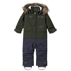 Didriksons Maneten Coverall Spruce Green 110 cm (4-5 r)
