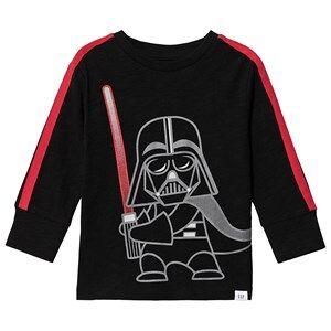 GAP Darth Vader Long Sleeve Tee True Black 3 r