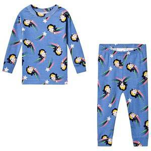 GAP Wonder Woman Pajamas Moore Blue 12-18 mnd