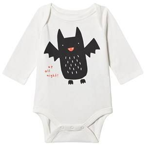 GAP Bat Baby Body New Off White 0-3 mnd
