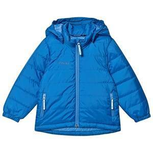 Bergans Dunjakke Barn Athens Blue / Light Winter Sky 116 cm