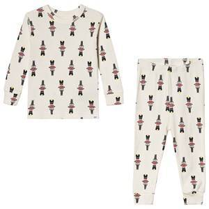 GAP Soldier Pajamas Ivory Frost 4 r