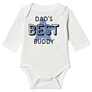 GAP Best Buddy Baby Body White 6-12 mnd