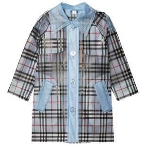Burberry Check Trench Frakk Pale Blue 12 years