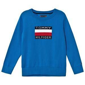 Tommy Hilfiger Flag Logo Sweater Imperial Blue 4 years