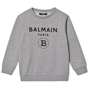 Balmain Logo Genser Gr 8 years