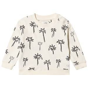 Sproet & Sprout Palm Tee Terry Genser Cream 92-98 (2-3 years)