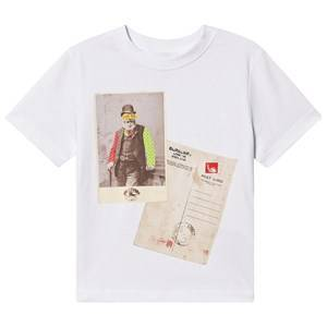 Burberry Postcard T-Skjorte Hvit 4 years