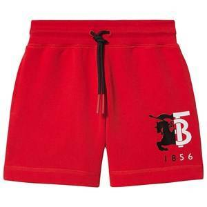 Burberry Logo Shorts Bright Red 10 years