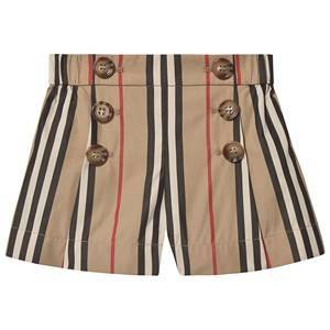 Burberry Icon Stripe Baby Shorts Archive Beige 12 months