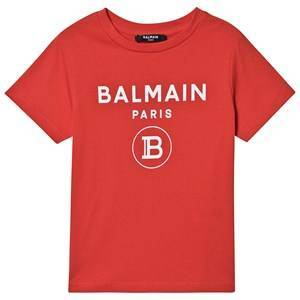 Balmain Logo T-Skjorte Rd 10 years