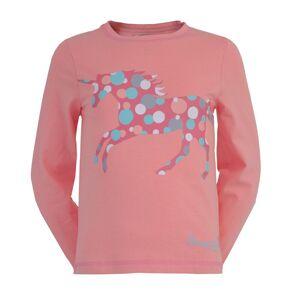 Jacson Långärmad T-Shirt Pony Pals Rosa 130