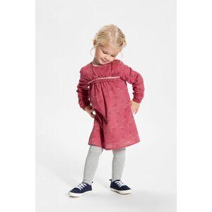MinyMo kjole til baby og barn, Rose wine
